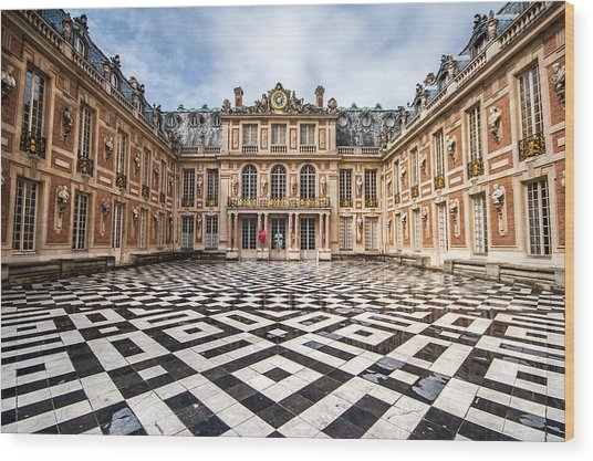 Chateau Versailles France Wood Print