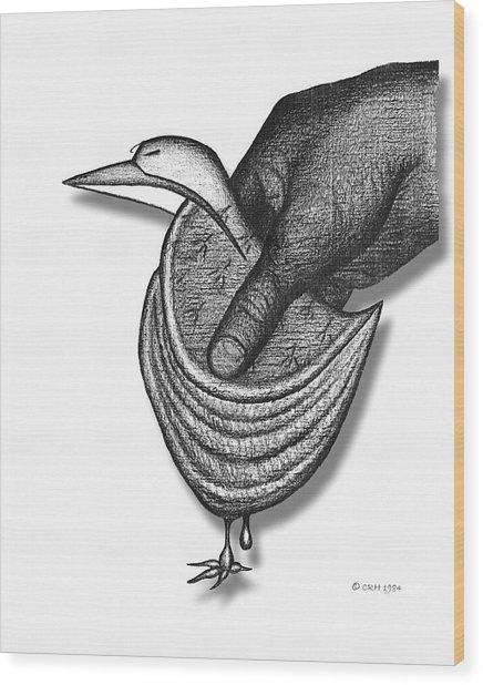 Chausson Aux Pommes Wood Print