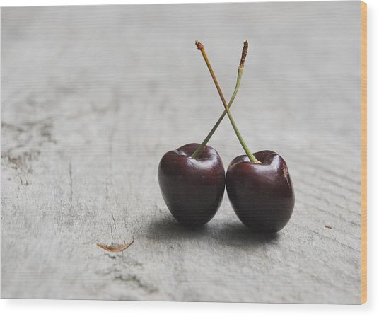 Cherry Duo Wood Print