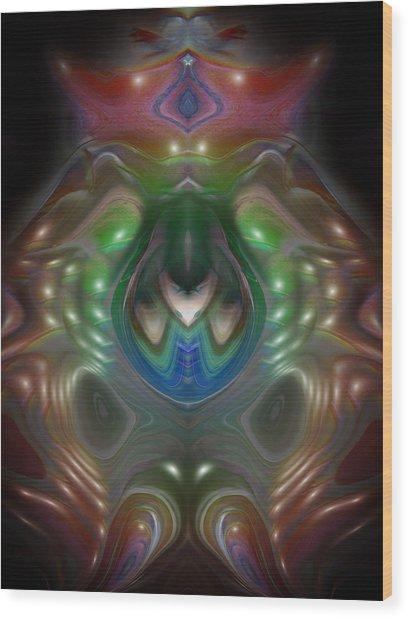 Cherub 5 Wood Print