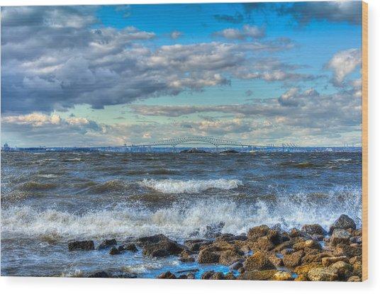 Chesapeake Winds Wood Print