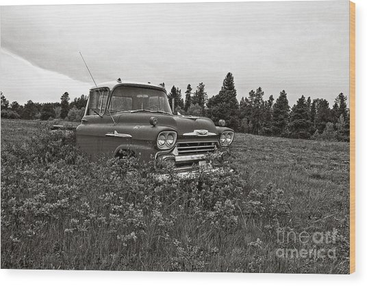 Chevrolet Apache Colorado Wood Print