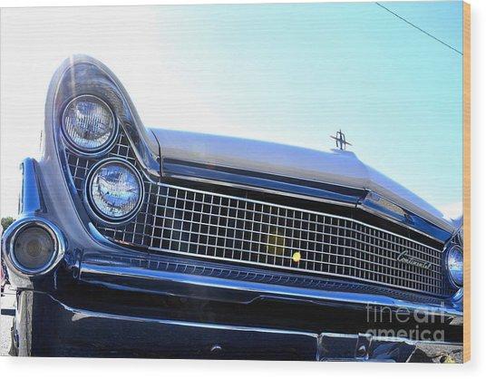 Chevrolet Blue  Wood Print by LLaura Burge