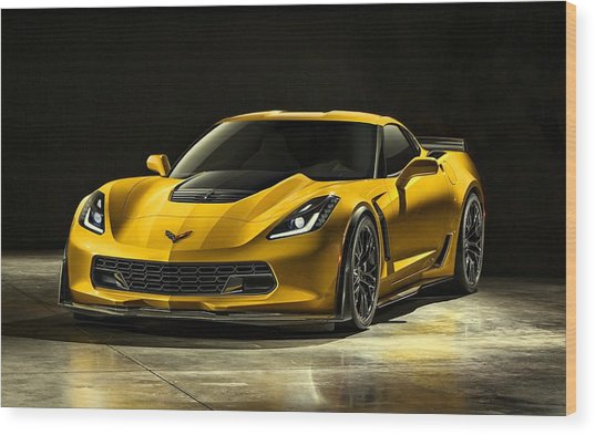 Chevrolet Corvette Z06  Wood Print