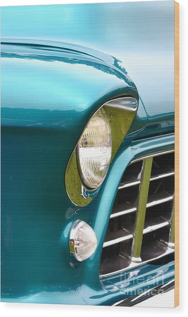 Chevy Pickup Wood Print