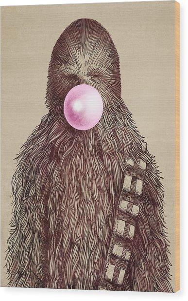 Big Chew Wood Print by Eric Fan