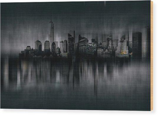 Chicago Wood Print by Carmine Chiriac?