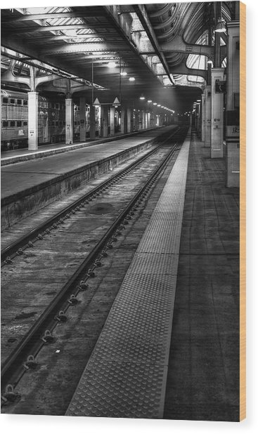Chicago Union Station Wood Print