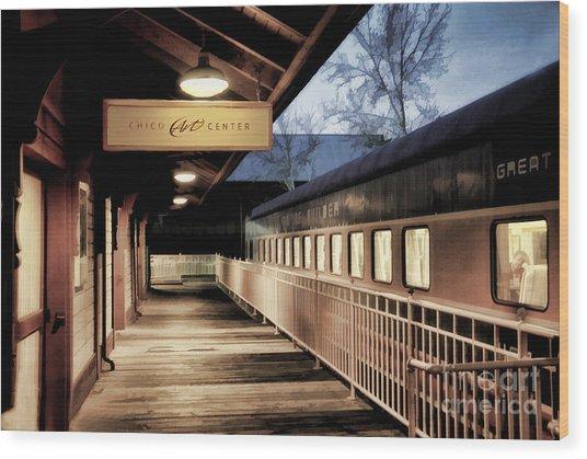 Chico Art Center Wood Print