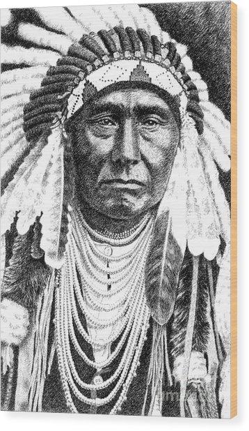 Chief-joseph Wood Print