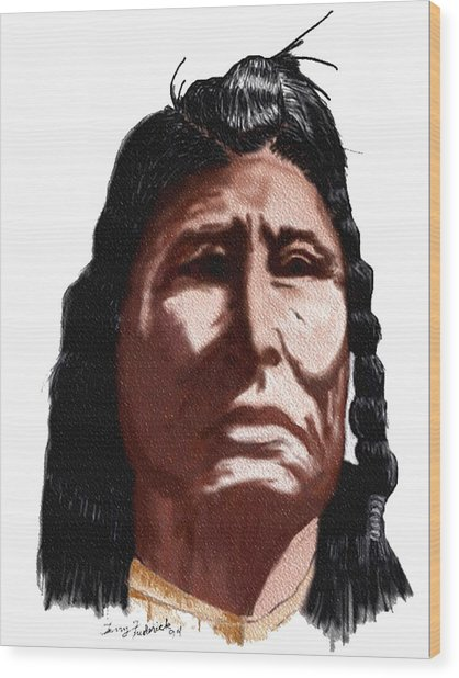 Chief Wood Print