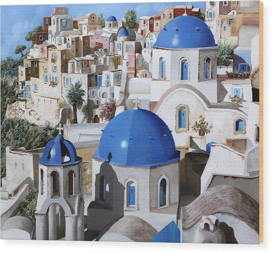 Chiese Ortodosse Wood Print