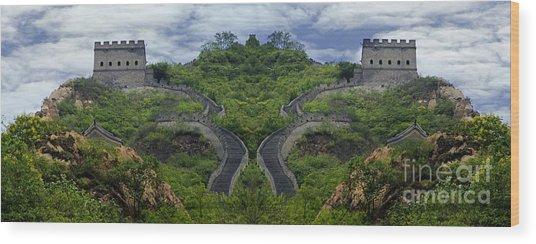 China 1 Wood Print