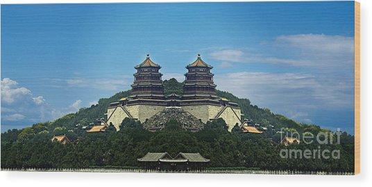China 8 Wood Print