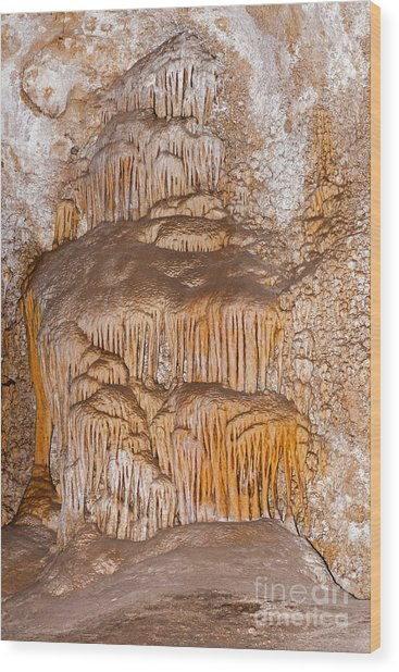 Chinesetheater Carlsbad Caverns National Park Wood Print