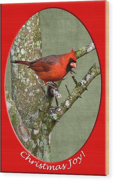 Christmas Joy Wood Print