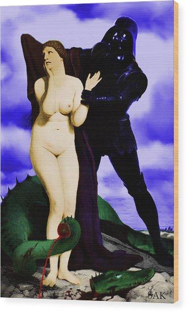 Chivalry Wood Print