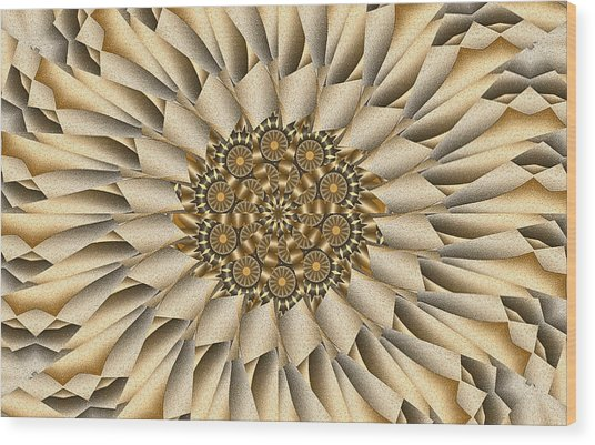 Choco-latte Wood Print