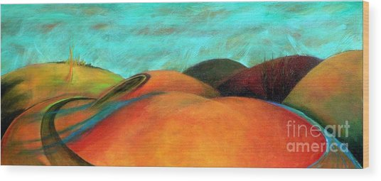 Chocolate Hills Wood Print