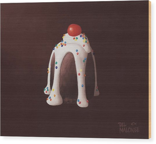 Chocolate Party Wood Print
