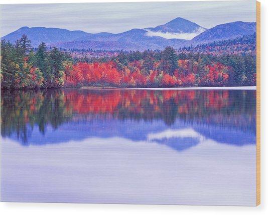 Chocorua Lake Wood Print