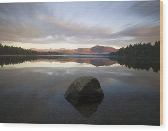 Chocorua Sunrise Wood Print