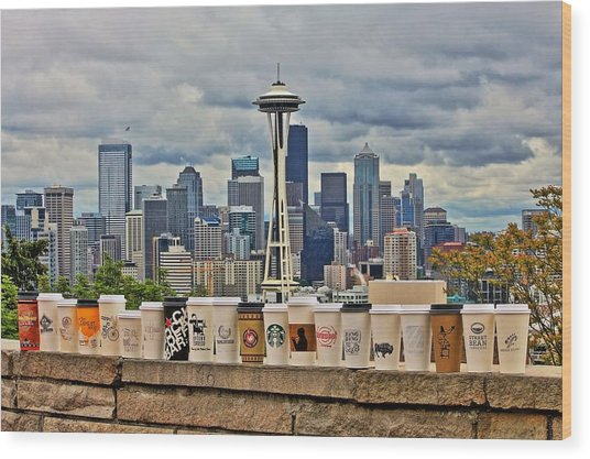Choose Your Brew Wood Print