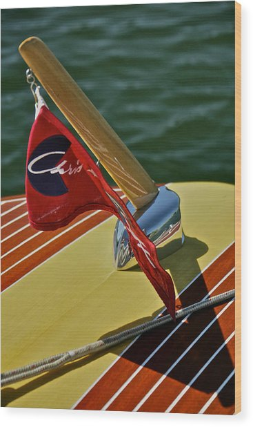 Chris Craft Classic Special Wood Print