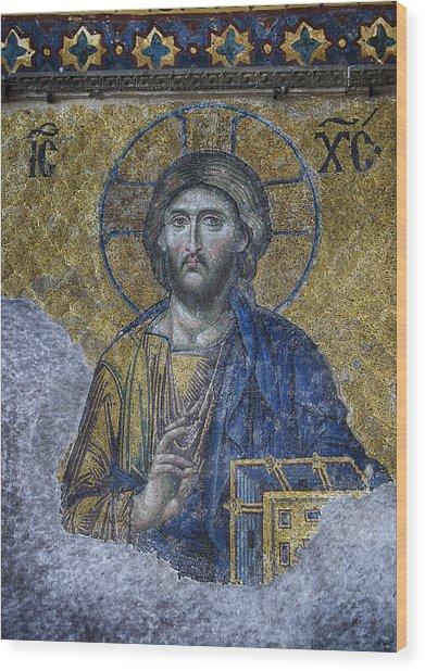 Christ Pantocrator IIi Wood Print