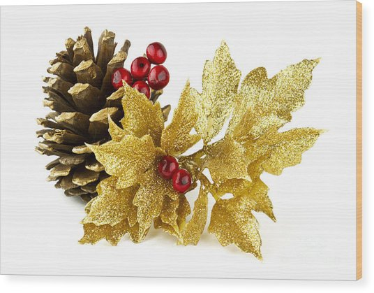 Christmas Wood Print by Blink Images