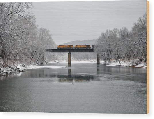 Wood Print featuring the photograph Christmas Coal by Matthew Chapman