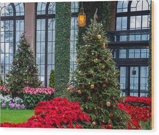 Christmas Garden #2 Wood Print