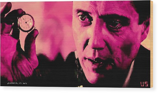 Christopher Walken @ Pulp Fiction Wood Print
