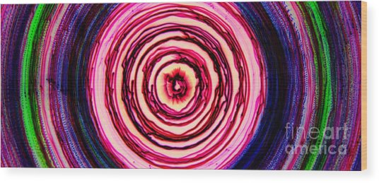 Chromatism Wood Print