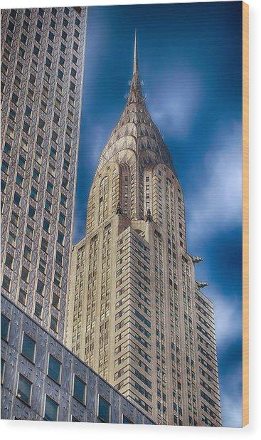 Chrysler Building Wood Print by Joann Vitali