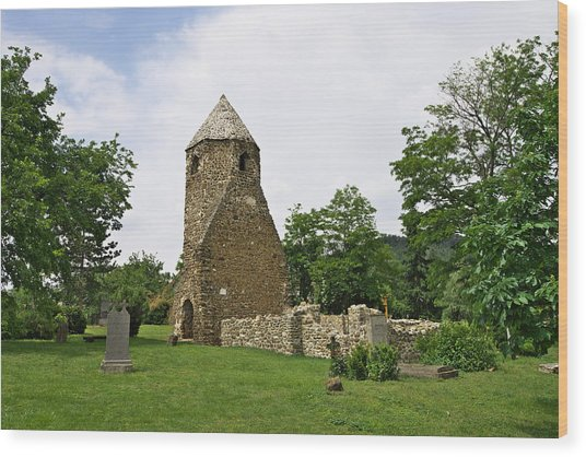 Church Of Avasi Rehely Wood Print