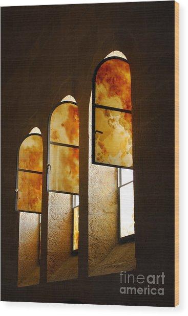 Church Of Heptapegon In Israel Wood Print