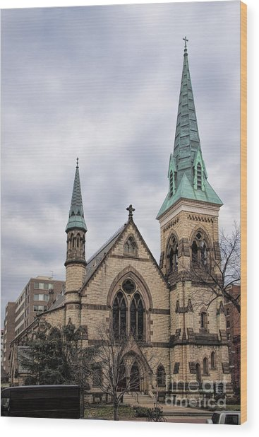Church Of The Ascension And Saint Agnes Wood Print
