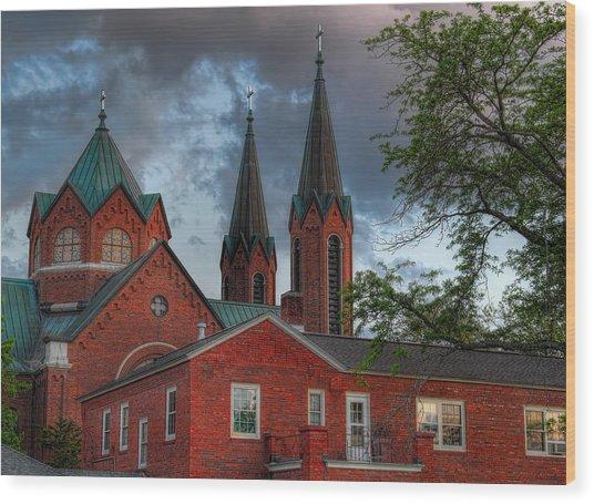 Church Of The Resurrection Wood Print