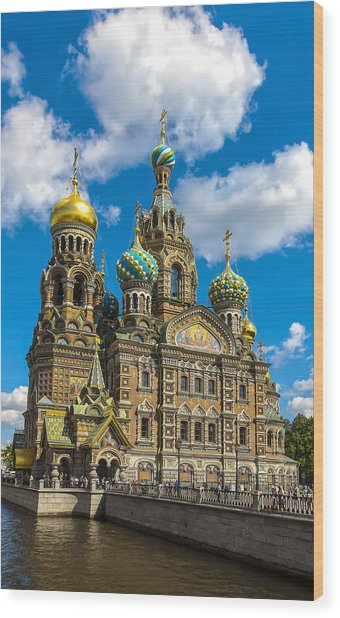 Church Of Spilled Blood Wood Print