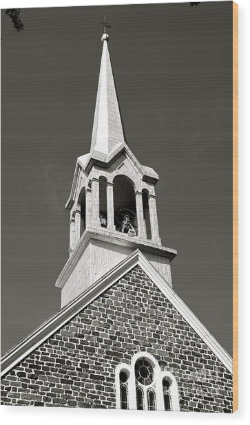 Church Steeple Wood Print