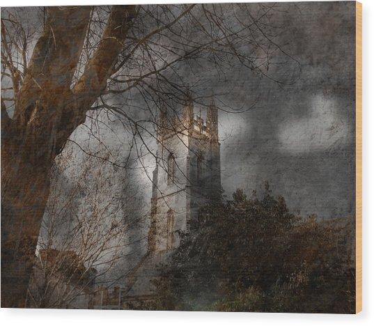 Church Tower Wood Print