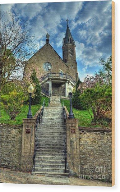 Cincinnati Landmarks 5 Wood Print