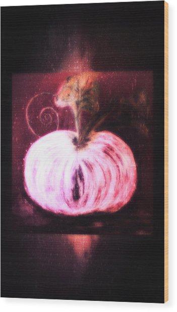 Cinderella's Pumpkin  Wood Print