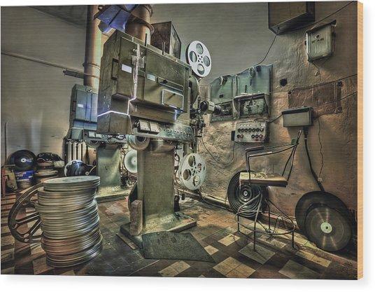 Cinematica Wood Print