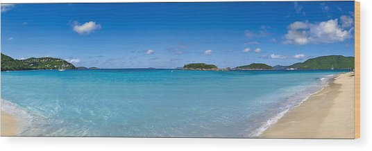Cinnamon Bay 2 Wood Print