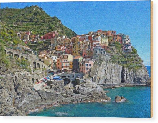 Cinque Terre Itl3403 Wood Print