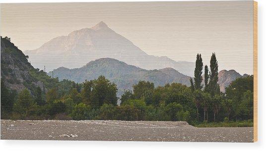 Cirali Wood Print