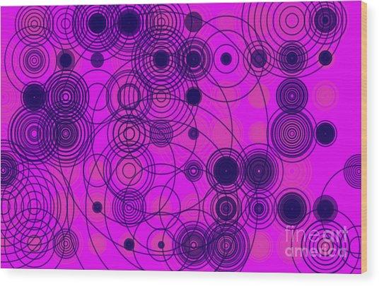 Circle Of Love IIi Wood Print