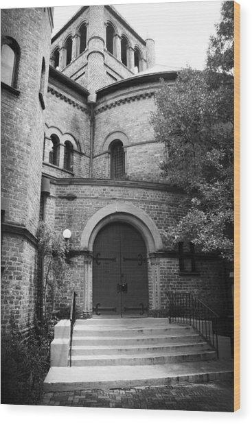 Circular Church Of Charleston Sc Wood Print